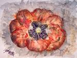 Derek Mccrea - Poppy abstract flor  original