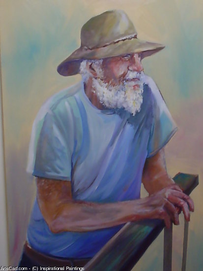 Obra De Arte >> Inspirational Paintings >> AUSSIE AGRICULTOR