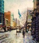 Fred Himmelsbach - Swanston Rua , Melbourne