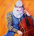 Amy Polling - PIERROT AVEC CELLO