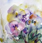 Piasermoyen Art - Pansies