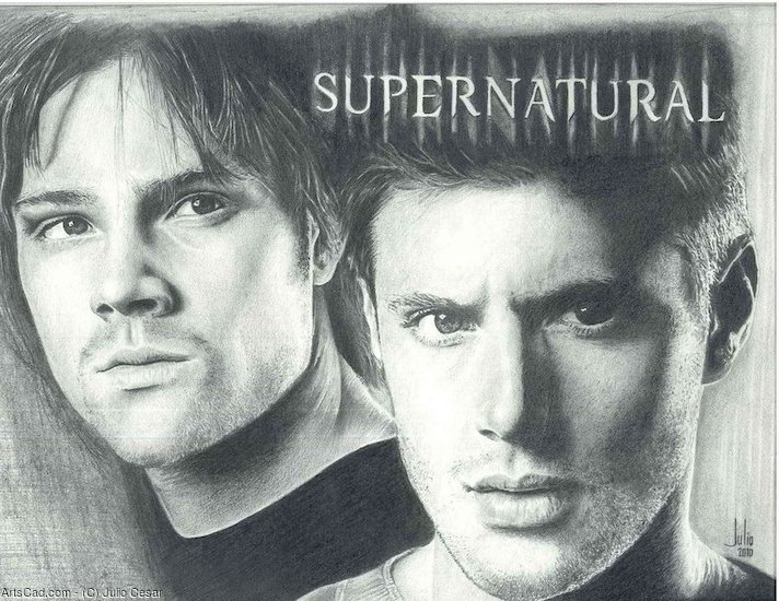 Obra De Arte >> Julio Cesar >> The Winchester Brothers