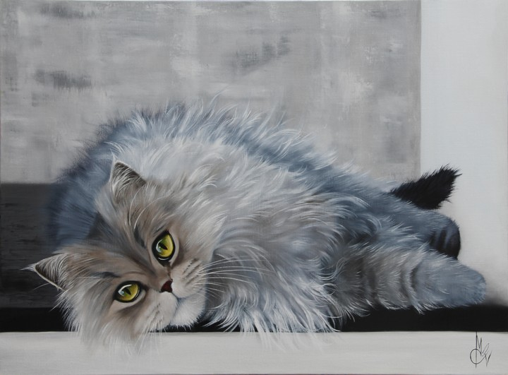 Obra De Arte >> Chantal Rousselet >> Beleza chat
