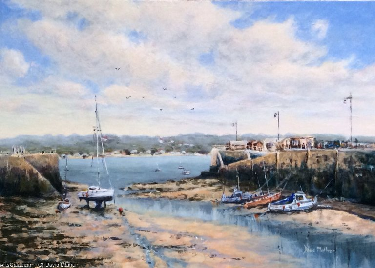 Obra De Arte >> David Mather >> St Aubin porto Jersey