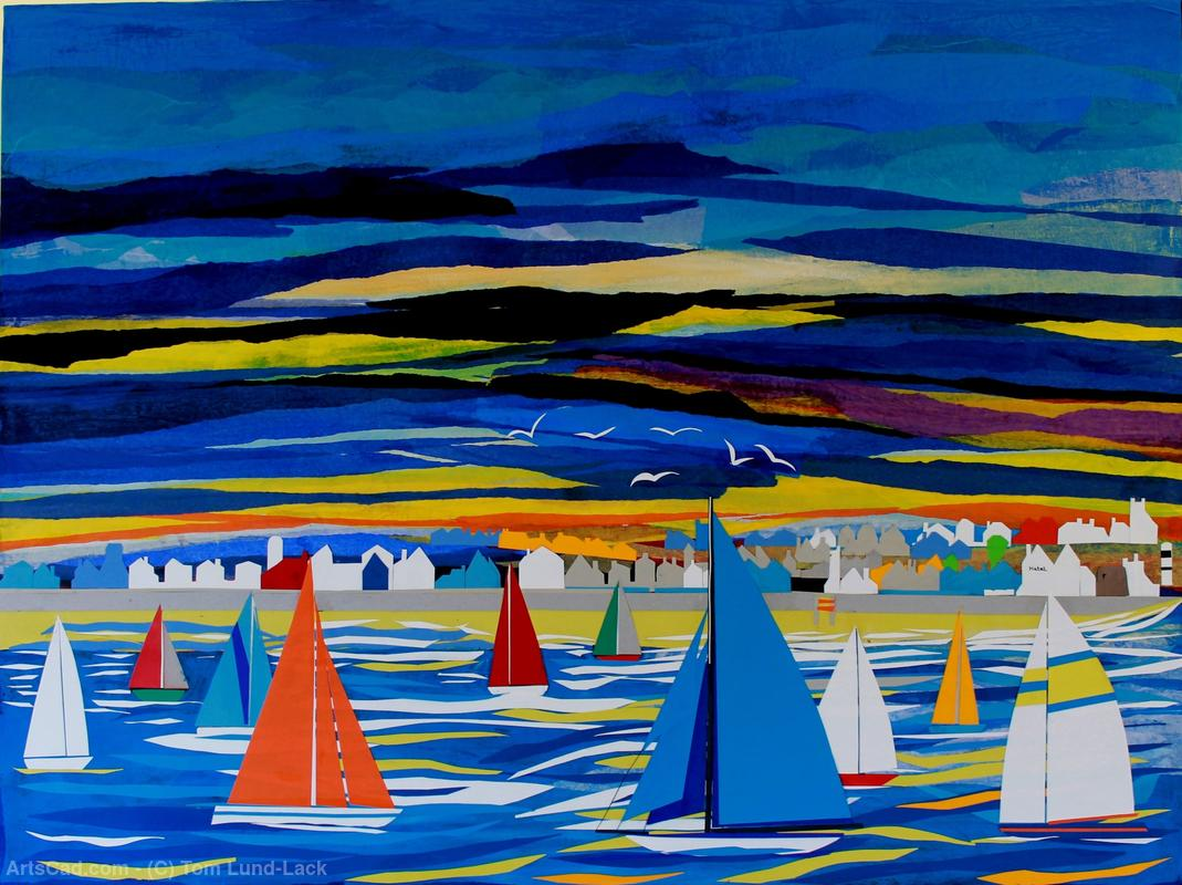 Obra De Arte >> Tom Lund-Lack >> Domingo Regatta